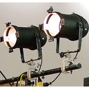 パーライト(500W)2灯セット(スタンド式)