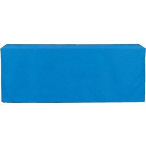 ボックス型クロス 青