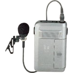 ワイヤレスガイドマイク 300MHz
